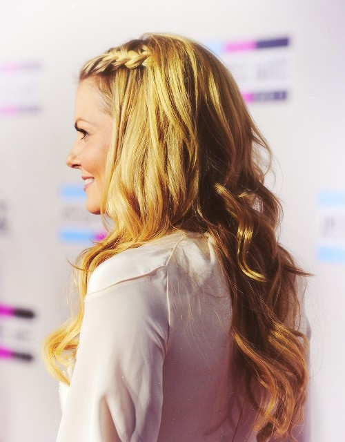 Jennifer Morrison's braided hairstyle is so cute
