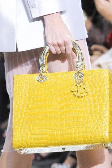 Miss Dior giallo canarino