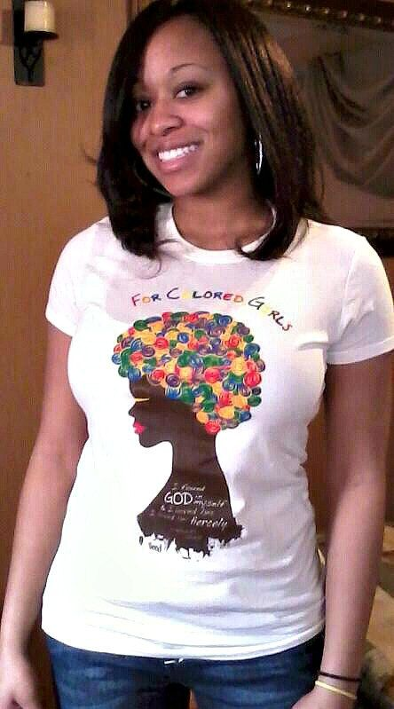 African American TShirt For Colored Girls by by SoulSeedApparel, $19.99