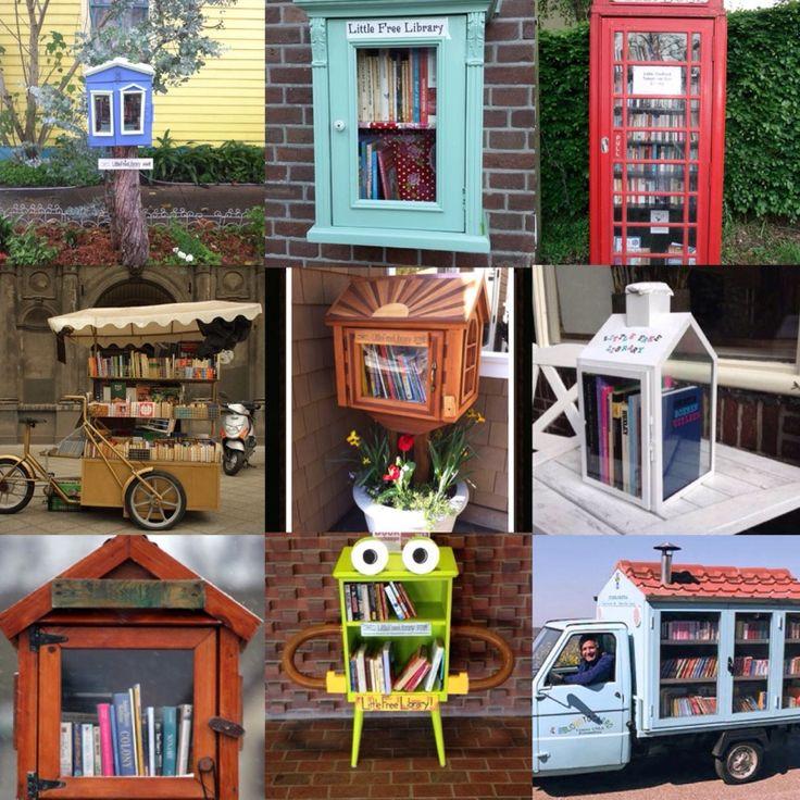 Aarts Minibieb-hier kun je een boek meenemen  -of een boek ruilen  -of zelf een boek neerzetten
