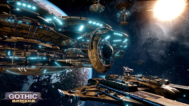 Battlefleet Gothic: Armada brings the Tau Empire to open beta tomorrow   PC Gamer