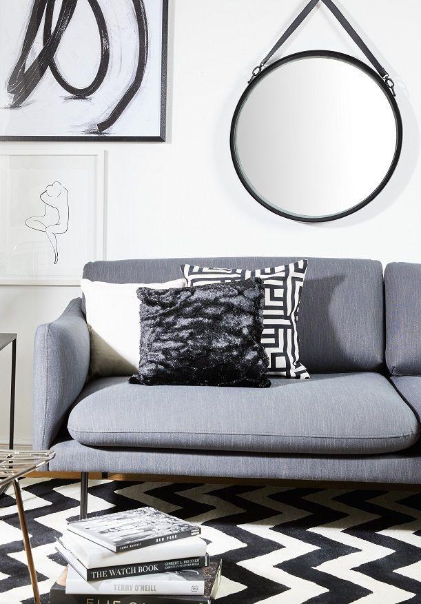 Handgetufteter Teppich Sita Monochrome Living Pinterest Interiors