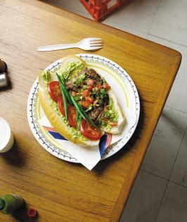 Chicken chacarero recipe