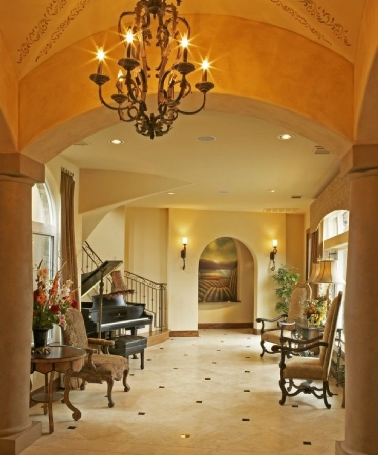 Stunning Foyer Chandelier Ideas Innovative Foyer Chandeliers In Entry Mediterranean With Ba