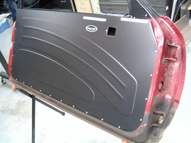 Aluminum Door Fox Mustang Aluminum Door Panels