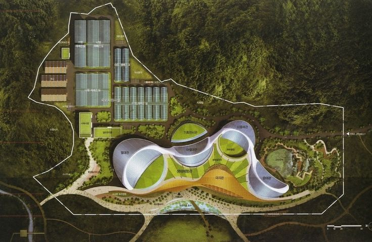 Ecorium of the national ecological institute south korea for The ecorium project
