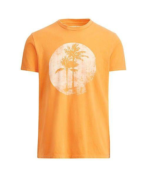 Denim & Supply Ralph Lauren(デニム&サプライ)の「コットン ジャージー グラフィック Tシャツ(Tシャツ/カットソー)」|オレンジ
