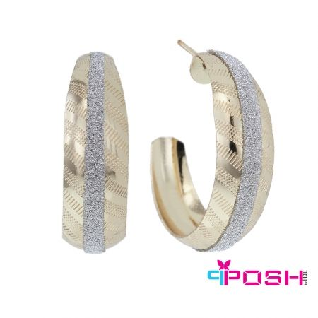 5. Hoop earrings. These are called Emily, from the POSH fashion collection.