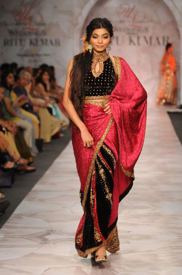 Collections - Ritu Kumar Couture Show 2009