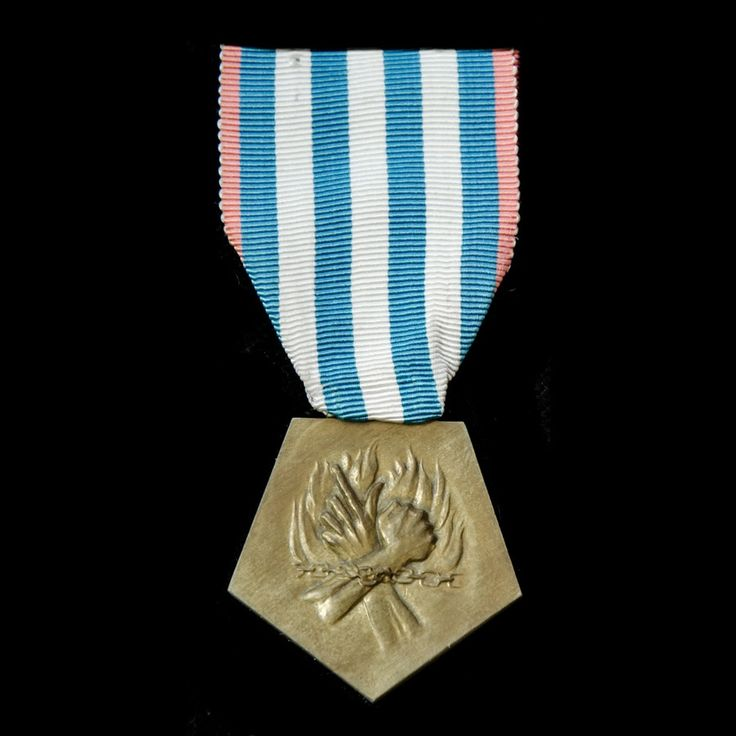 France: Medal for Deportees and Interned Resisters 1940-1945. - London Medal Company - Buy War Medals & Militaria Online