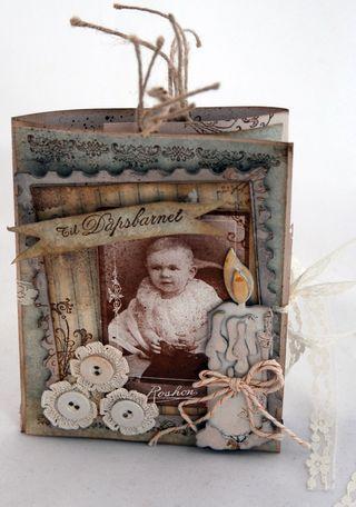 Stempelglede :: Design Team Blog. Rubber stamp used for this project: Vintage Baby,  Følg hjertet ditt and Velkommen lille venn  stamp sets.  2015 © Hilde Røisehagen