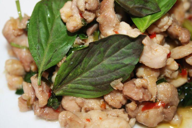 La Cuisine de Bernard: Le Poulet au Basilic Thaï