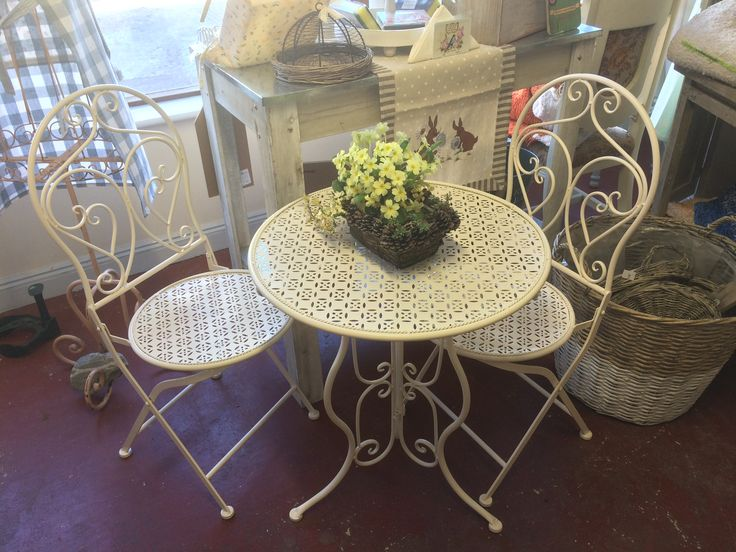 French outdoor Cafe Set for two !! Only at The Store Room Gorey. € 165.00.
