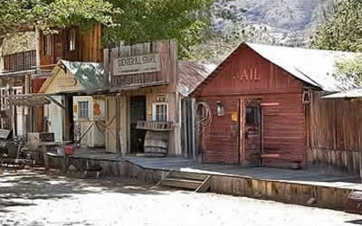 Silver City Ghost Town Kern County