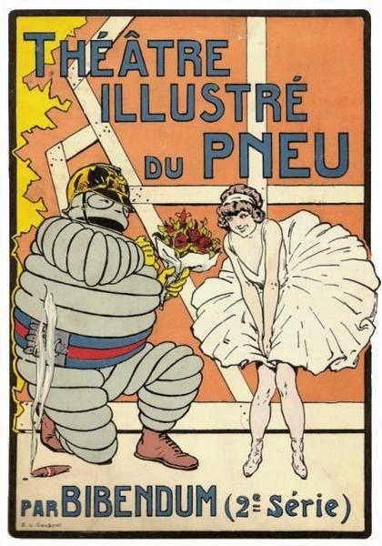 * publicité Michelin E.L. Cousyn ( ? -1926)
