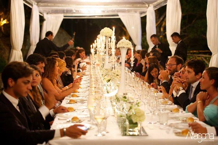 Eleganza e regalità al matrimonio. Il tavolo imperiale