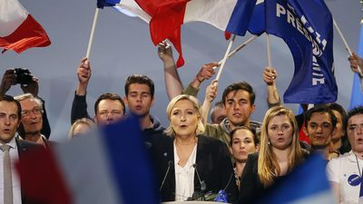 """Bernard-Henri Levy says Marine Le Pen won't win because """"France is not ready for a fascist regime"""""""