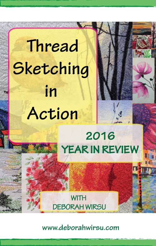 122 Best Thread Sketching Images On Pinterest