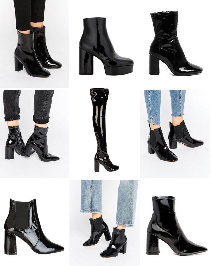 Patent Leather Boots. | Victoria Törnegren | Bloglovin'