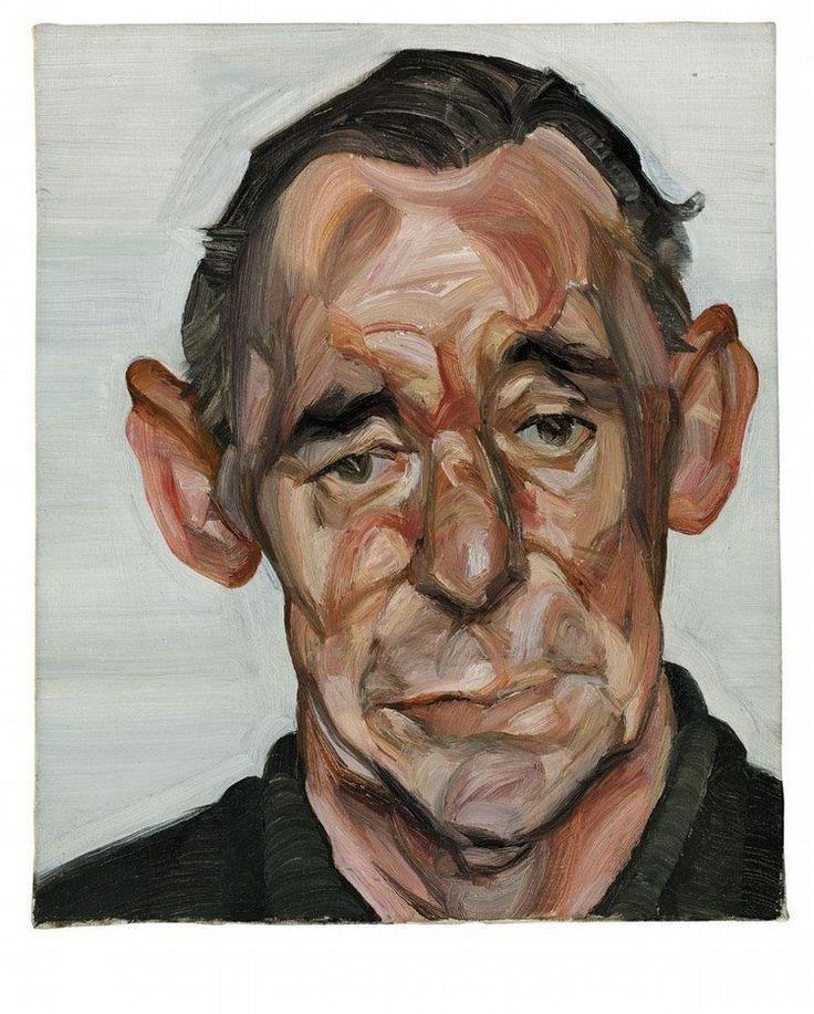 Portrait of John Deakin (1963) by Lucien Freud