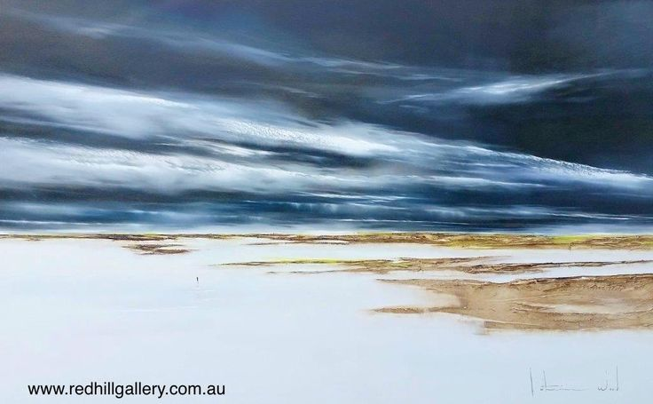 "Katherine Wood ""Making My Way Home"" 160x100cm. 61 Musgrave Road, Red Hill, Brisbane, QLD Australia. art@redhillgallery.com.au"