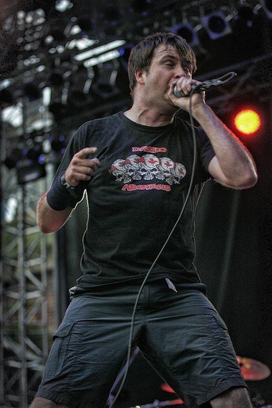 Napalm Death - koncert: Amon Amarth, Napalm Death ('Brutal Assault 2012'), Jaromer 10.08.2012