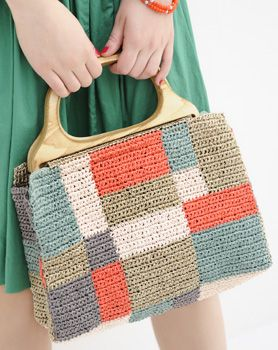 crochet bag     ♪ ♪ ... #inspiration_crochet #diy GB http://www.pinterest.com/gigibrazil/boards/