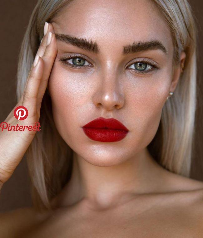 Rote Lippen Lippen Lippen Make Up In 2019 Pinterest Makeup