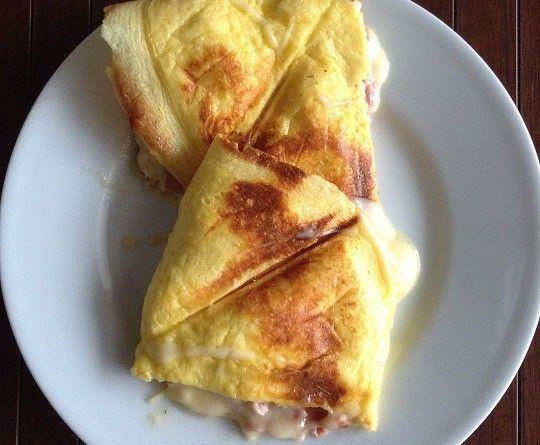 Duvido você não gostar deste panini low carb sem glúten