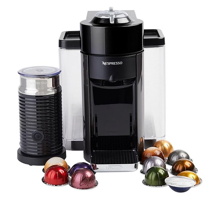 Nespresso Vertuo Coffee Maker with Milk Frother & Coffee