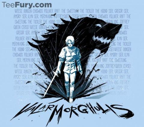 Arya's List | Game of Thrones | TeeFury