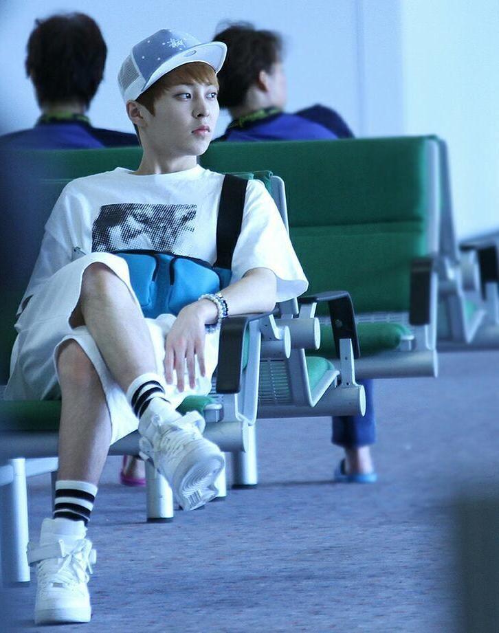 Xiumin Airport Xiumin /EXO | Xiumin m...