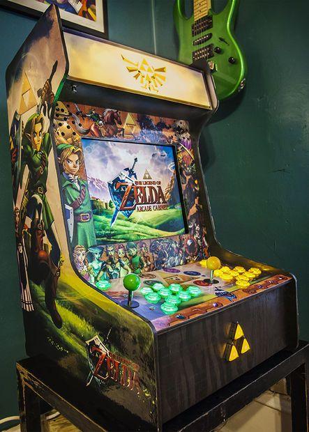 Legend of Zelda Bartop Arcade Cabinet by rfrazelle