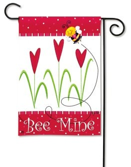 Honey, Bee Mine BreezeArt Valentine Garden Flag   Amazon