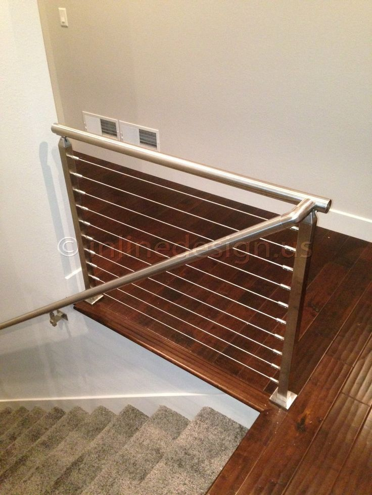 The Josh - WI Album | Modern Stainless Steel Railing & Handrail of Cable & Glass