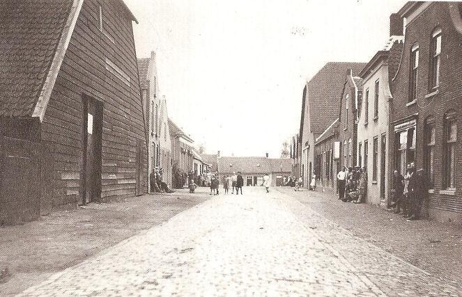 #Zevenbergen Molenstraat rond 1942