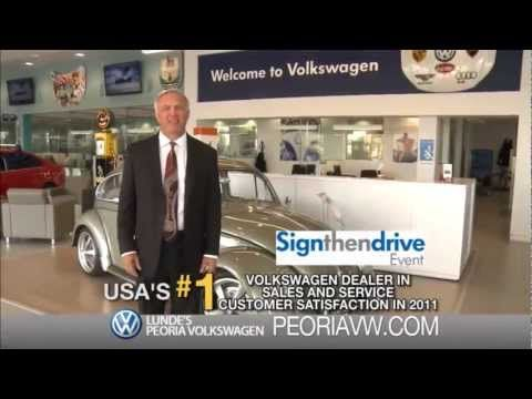 Lunde's Peoria Volkswagen Zero Down Lease Event    Your Phoenix Volkswagen Dealer   Independently owned and operated by Dennis Lunde, we are home to the 7-day money back guarantee on our new and used cars. This guarantee is just one example of how we aim to be the premier VW dealer in Phoenix, AZ.   New Volkswagen Vehicles at Lunde's Peoria Volkswag...