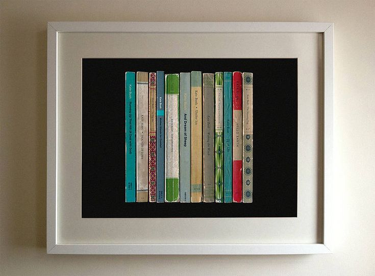 kate bush album in book form print by lime lace | notonthehighstreet.com €32.22