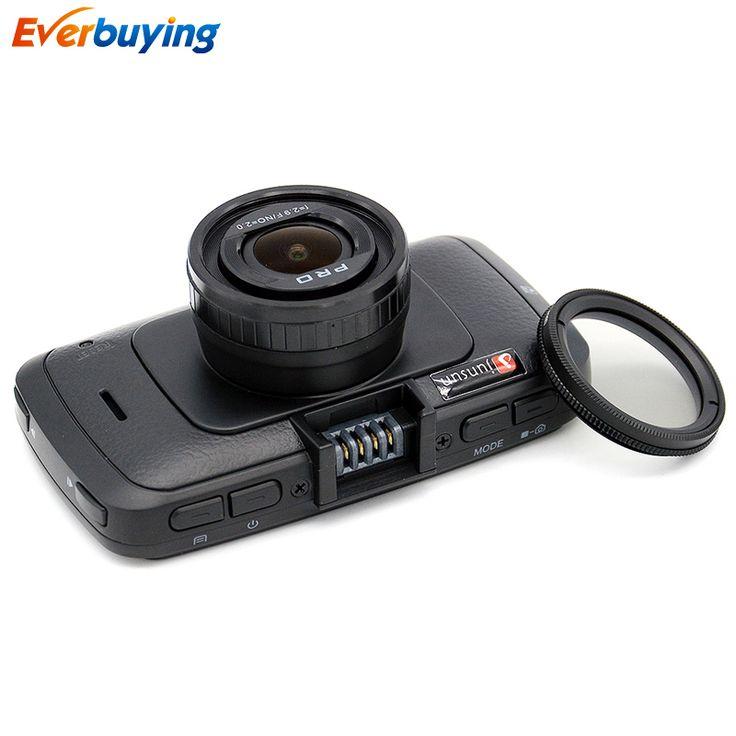 Junsun車dvrカメラa7810gプロタマゴノキa7la70車dvr 1296 pナイトビジョンビデオカメラldwsビデオレコーダーgpsトラッカーspeedcam