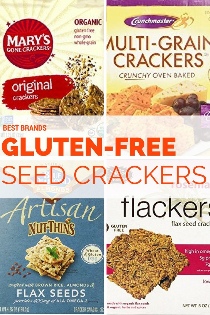 Best Store-Bought Gluten-Free Seed Cracker Brands    Best gluten-free seed crackers bursting with flavor and heart-healthy whole foods!     www.eatchicchicago.com