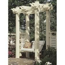 17 best images about arbor with swing on pinterest for Victorian porch swing plans