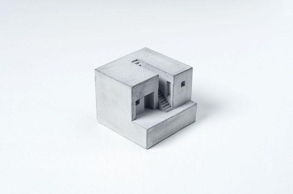 Miniature Concrete Home #4   Price : €31 Euro