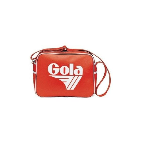 Gola Redford Messenger bag (£24) ❤ liked on Polyvore featuring bags, messenger bags, messenger bag, red, gola bag, red messenger bag, courier bag and gola
