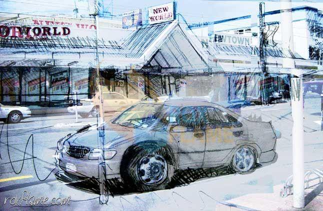 Rox Flame - Wellington New Zealand Artist - New World 2006 - Multimedia Photography + Illustration Art