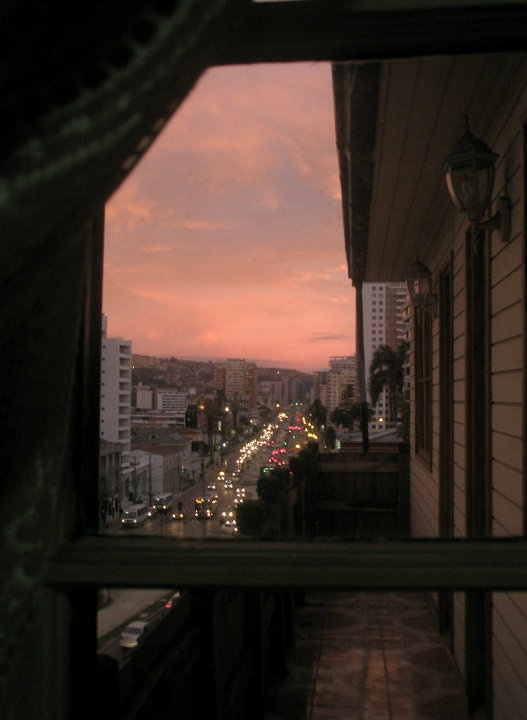 The View Outside My Bedroom Window!  Viña del Mar, Chile