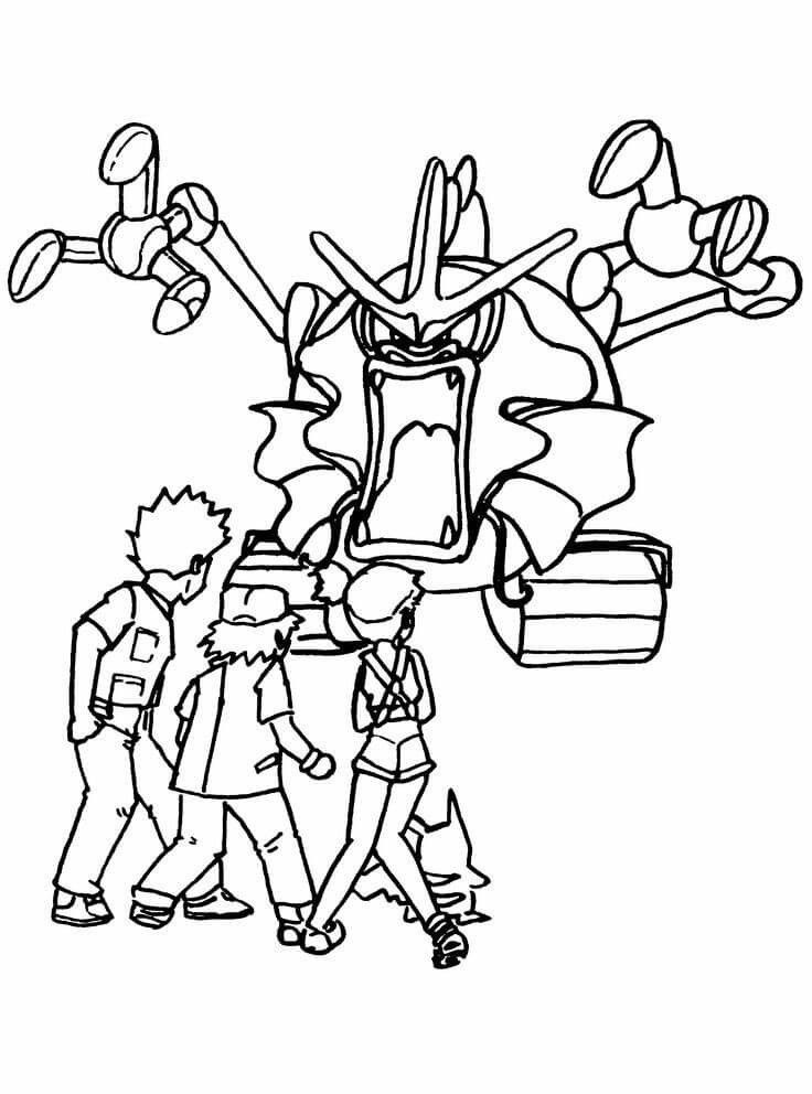 Pokemon Gyarados Coloring Page Youngandtae Com Pokemon Coloring Pages Coloring Pages Pokemon Coloring