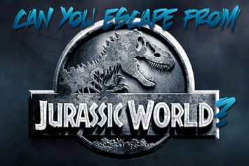 Can You Escape From Jurassic World? I survived!<<< the T-Rex bit me in half