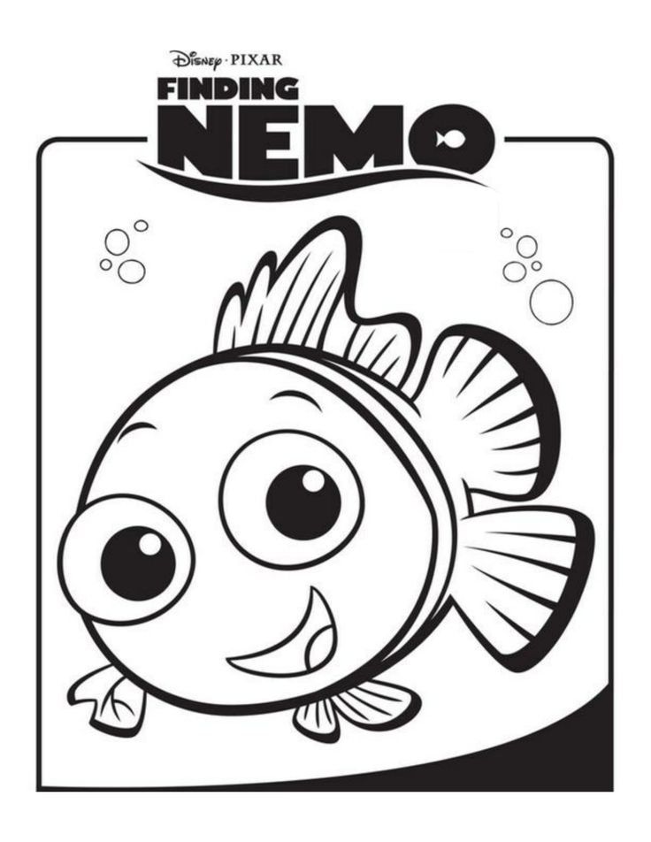 64 movie character coloring and activity sheets - Pixar Coloring Pages Finding Nemo
