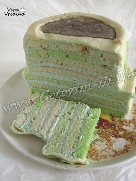 """Весенний торт """"Пора на грядки"""" - рецепт выпечки с фото"""