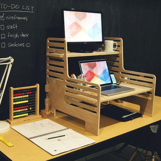 A Brilliant, Affordable Standing Desk Solution